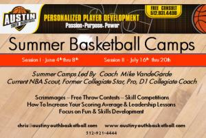 Austin Summer Basketball Camp