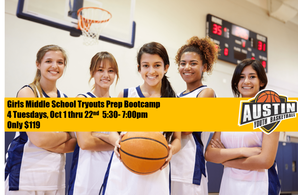 Austin Girls Middle School Basketball Bootcamp