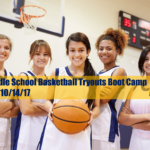 Middle School Girls Basketball Pre-Season Boot Camp