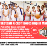 Basketball Kickoff Bootcamp in Maine