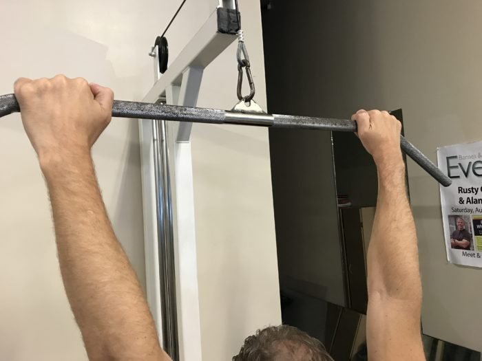 Promated Lat Pulldown for Basketball