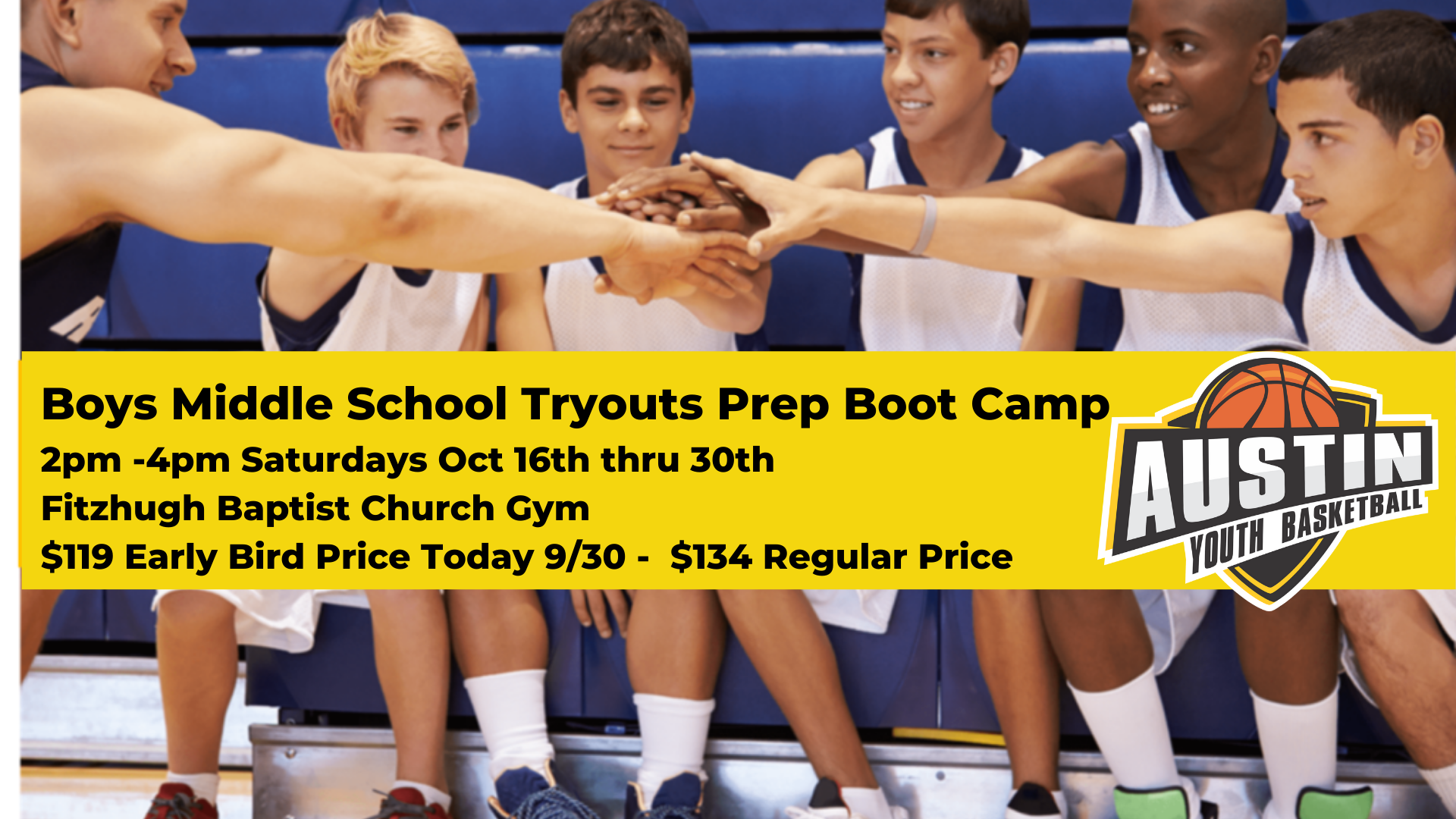 Austin Boys Middle School Basketball Tryouts Boot Camp