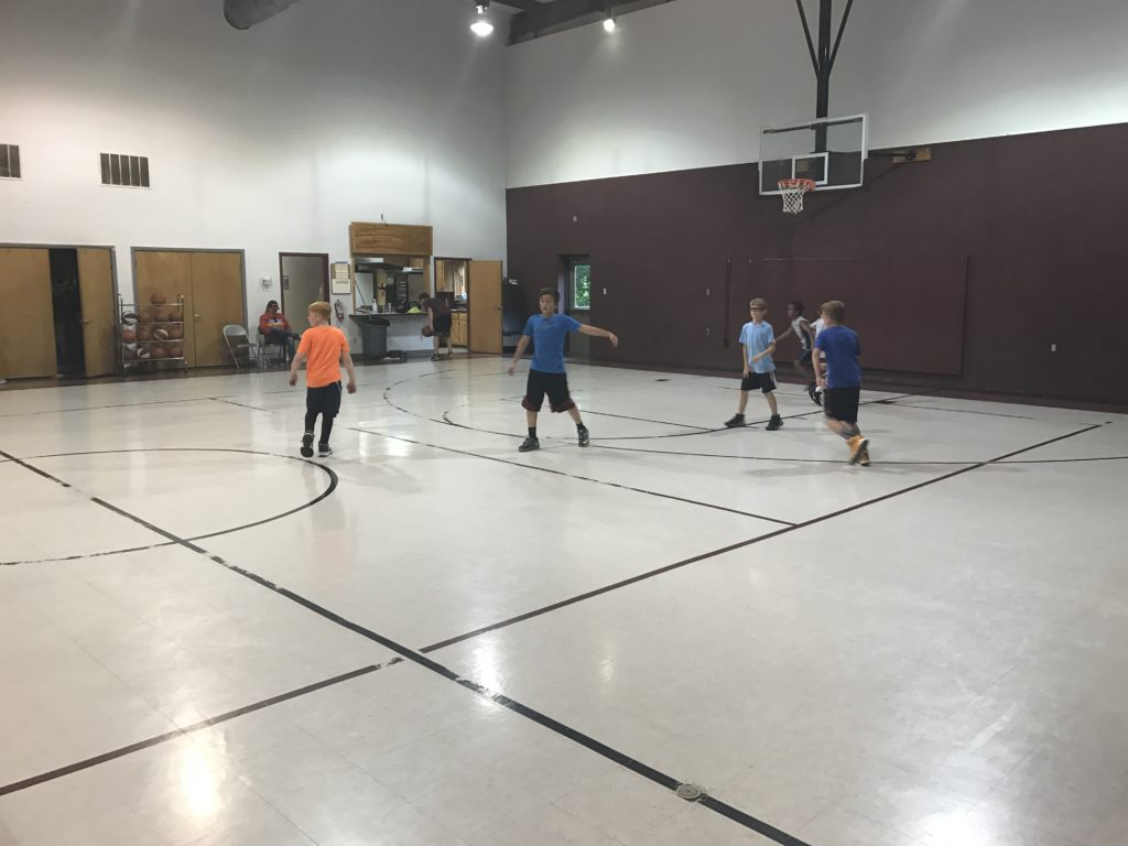 Austin basketball court for rent