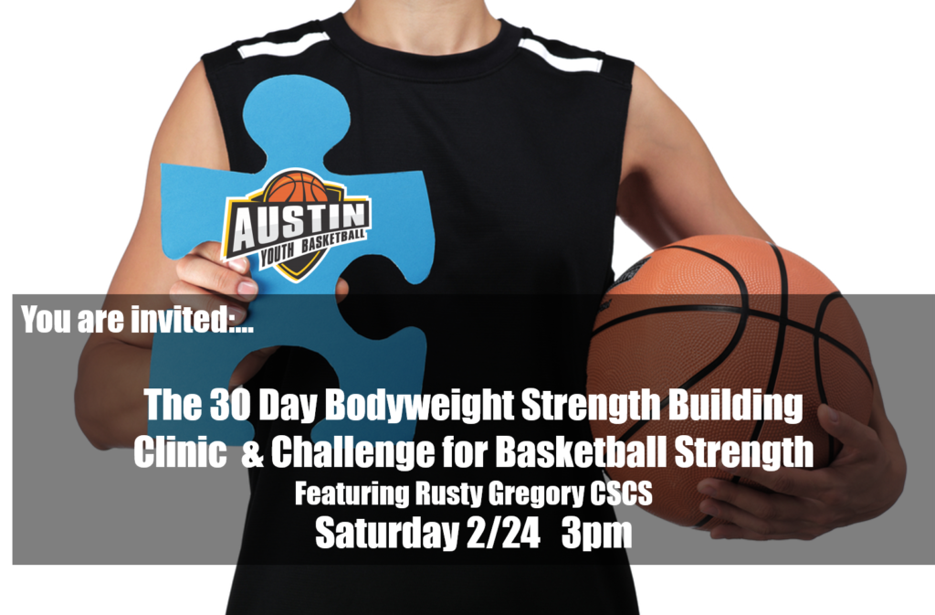 Basketball Bodyweight Strength Building Clinic and Challlenge