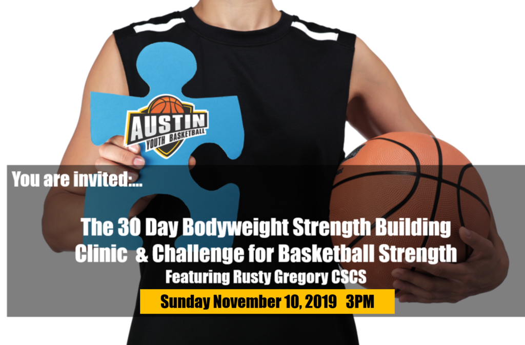 Basketball Body Weight Strength Training Clinic