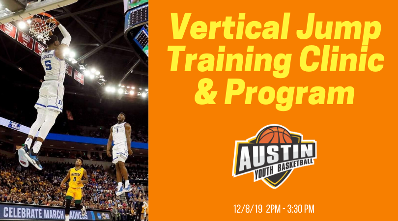 Vertical Jump Training Clinic & Course Austin